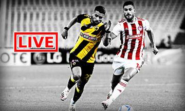LIVE: Ολυμπιακός - ΑΕΚ (20:00)