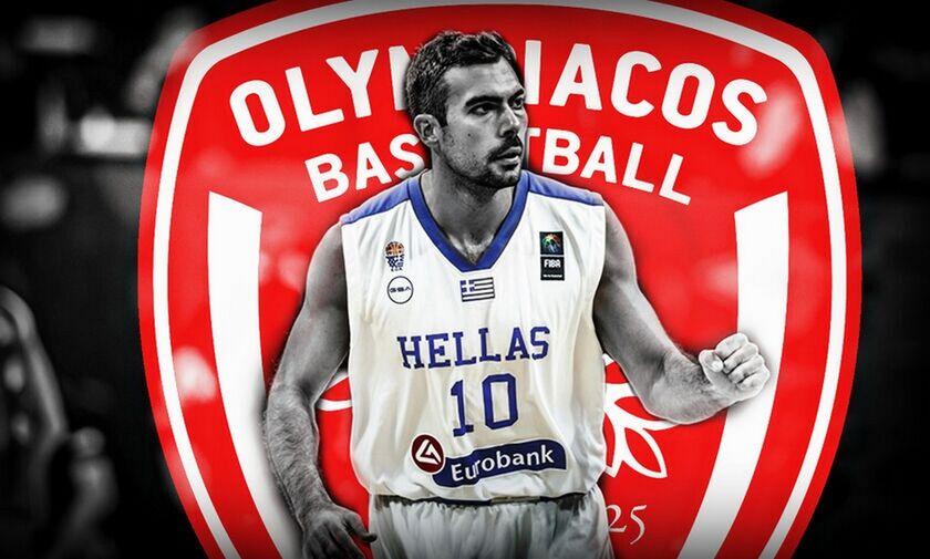 Σλούκας: Στην Αθήνα για υπογραφές με τον Ολυμπιακό