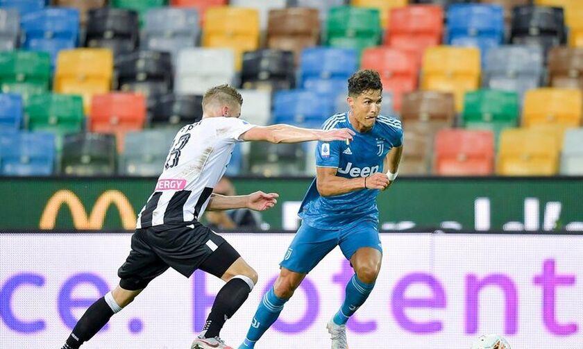 Serie A: Η Ουντινέζε καθυστέρησε την... στέψη της Γιουβέντους (2-1)