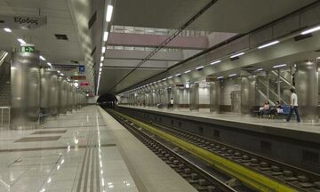 Μετρό - Αιγάλεω: Κλειστός ο σταθμός - Τηλεφώνημα για βόμβα