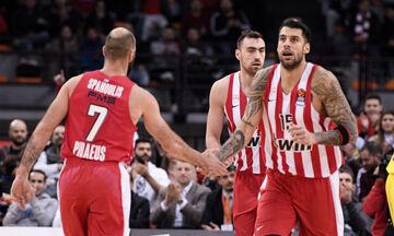 EuroLeague: Στους καλύτερους σκόρερ δύο πόντων ο Σπανούλης και ο Πρίντεζης (vid)