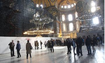 Τραμπ: Δυσαρέσκεια για τη μετατροπή της Αγίας Σοφίας σε τζαμί