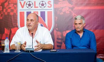 Βόλος: Νέος προπονητής ο Τσιώλης, πρόεδρος ο Μπέος