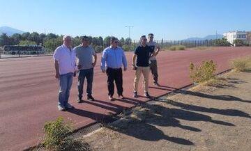 Ξεκίνησαν οι εργασίες για την αναβάθμιση των αθλητικών εγκαταστάσεων στο Ολυμπιακό χωριό