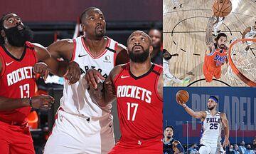 NBA: Με Ιμπάκα οι Ράπτορς, εύκολα οι Σίξερς, θηρίο ο Άνταμς! (vids)
