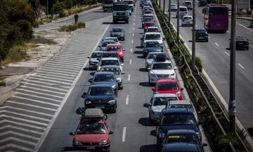 Ουρές χιλιομέτρων στην Εθνική Οδό Αθηνών – Κορίνθου λόγω τροχαίου