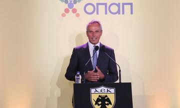 Ο Ανδριόπουλος αποκάλυψε πότε θα παίζει η ΑΕΚ στο νέο γήπεδό της