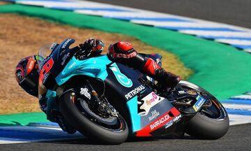 Grand Prix Ανδαλουσίας: Ξανά στον Κουαρταραρό η pole position, δεν έτρεξε ο Μάρκεθ