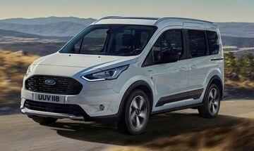 Νέα εκδρομικά Ford Tourneo και Transit Connect Active