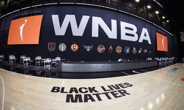 Το WNBA ξεκίνησε με στάσεις διαμαρτυρίας για τον ρατσισμό