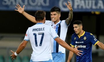 Serie A: Με χατ τρικ του Ιμόμπιλε η Λάτσιο 5-1 τη Βερόνα