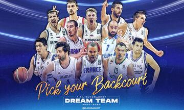 Ψηφοφορία για τη Dream Team των Ευρωμπάσκετ!