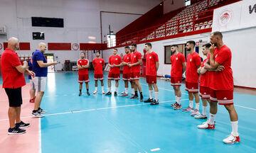 Ολυμπιακός: Πραγματοποιήθηκε η πρώτη προπόνηση της σεζόν