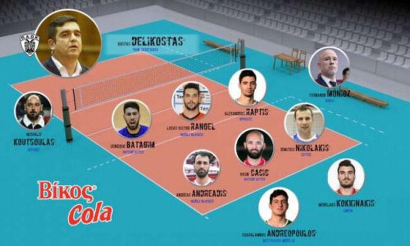 Ο προπονητής του ΠΑΟΚ ψήφισε τον Μουνιόθ καλύτερο προπονητή της Volley League 19/20!
