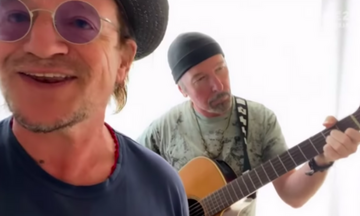 To «Stairway to Heaven» από τους Bono και Edge (vid)
