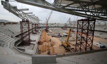 ΥΠΕΝ: Εγκρίθηκε η αναθεώρηση της οικοδομικής άδειας για το γήπεδο της ΑΕΚ