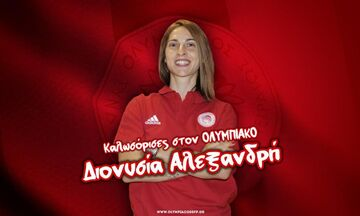 Ολυμπιακός: Στα «ερυθρόλευκα» η Αλεξανδρή!