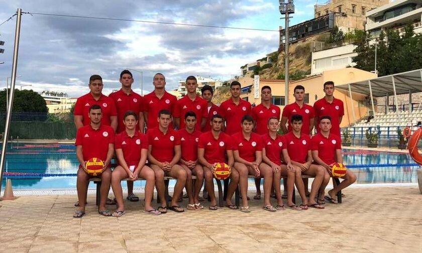 Εφηβικό Πρωτάθλημα πόλο: Ο Ολυμπιακός νίκησε τον Παναθηναϊκό 14-8