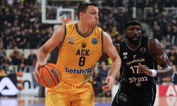 AEK: Για τρίτη σερί σεζόν συνεχίζει ο Ματσιούλις