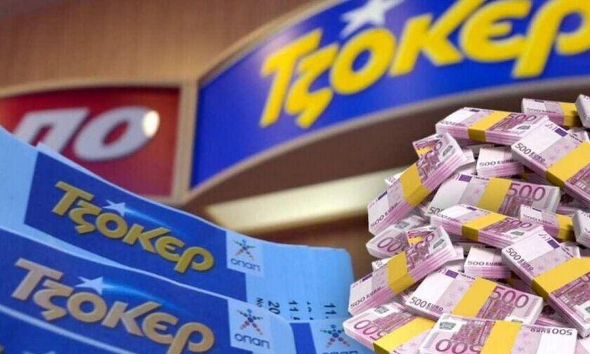 Αυγουστιάτικο τζακ ποτ στο Τζόκερ με 6,8 εκατ. ευρώ