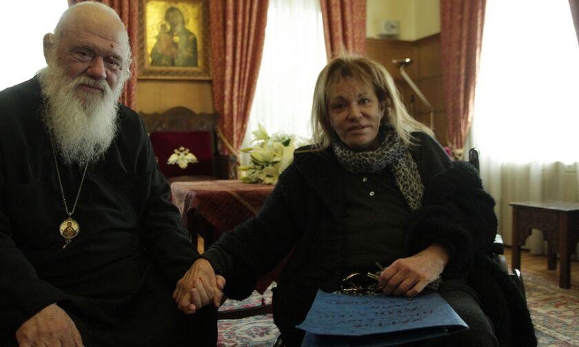Εξιτήριο από το νοσοκομείο πήρε η Μαίρη Χρονοπούλου