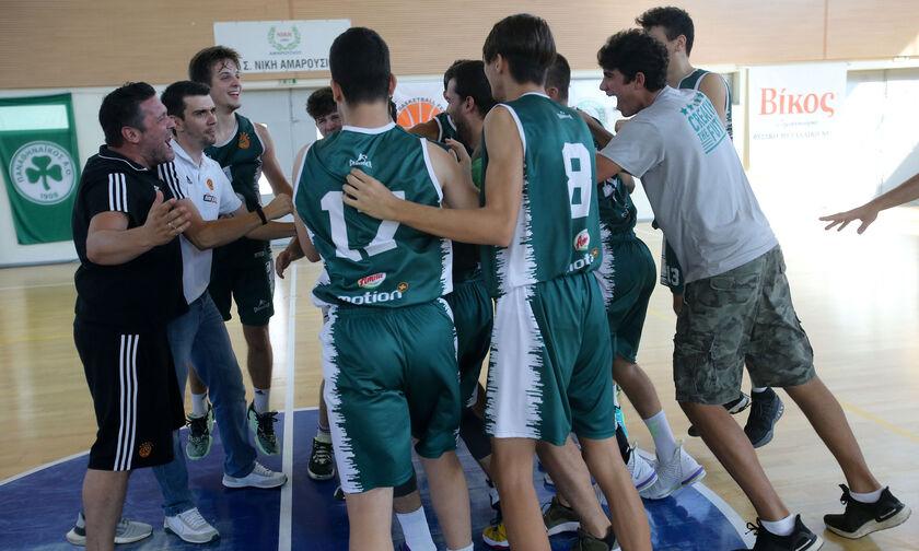 Ο Παναθηναϊκός το χρυσό στο Πανελλήνιο Πρωτάθλημα Παίδων
