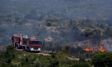 Υπό μερικό έλεγχο η πυρκαγιά στη Τζιά - Εστίες σε Κέρκυρα, Κεφαλονιά