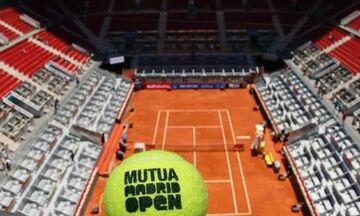 Ακυρώθηκε το τουρνουά τένις της Μαδρίτης