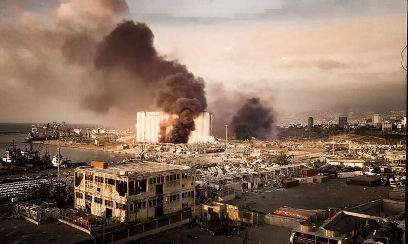 Λίβανος: 78 νεκροί στη Βηρυτό. Ανατινάχθηκαν 2.750 τόνοι νιτρικού αμμωνίου, σεισμός 4,5 ρίχτερ