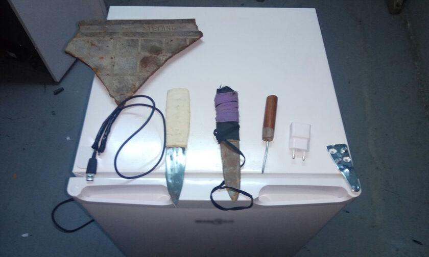 Βρέθηκαν ψυγεία και ηχοσυστήματα σε κελιά των φυλακών Δομοκού! (pics)