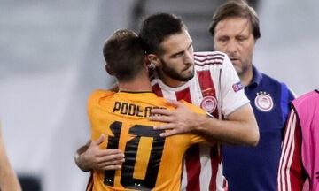 """Η αγκαλιά του Φορτούνη στον Ποντένσε που τον είχε αποκαλέσει """"τεμπέλη""""!"""