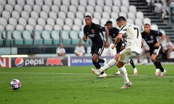 Γιουβέντους-Λιόν: 1-1 ο Ρονάλντο με πέναλτι που… δεν υπάρχει (vid)