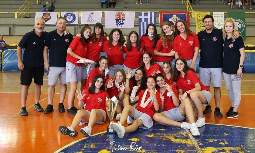 Η μεγάλη του Κρόνου σχολή: Τα κορίτσια του Αγίου Δημητρίου κυρίαρχα ξανά στο Πανελλήνιο Κορασίδων!