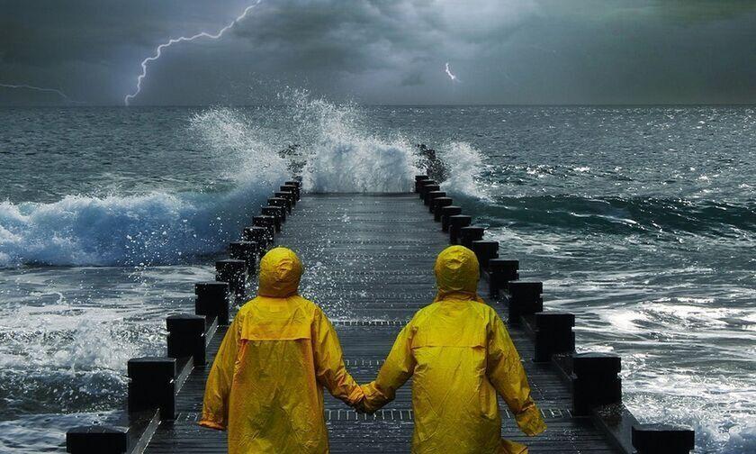Καιρός: Πού θα έχουμε ισχυρές βροχές καταιγίδες και χαλαζοπτώσεις. Θερμοκρασία σε πτώση