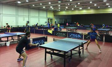 Πινγκ πονγκ: Δώδεκα αθλητές και 6 αθλήτριες προσκλήθηκαν στις προεθνικές ομάδες