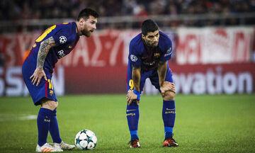 Μπαρτσελόνα – Νάπολι: Με δυο πέναλτι-γκολ διαμορφώθηκε το 3-1 στο πρώτο ημίχρονο (vid)