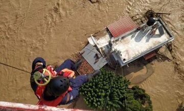 Πλημμύρες στην Εύβοια: Βρέφος 8 μηνών ανάμεσα στα θύματα (vids)