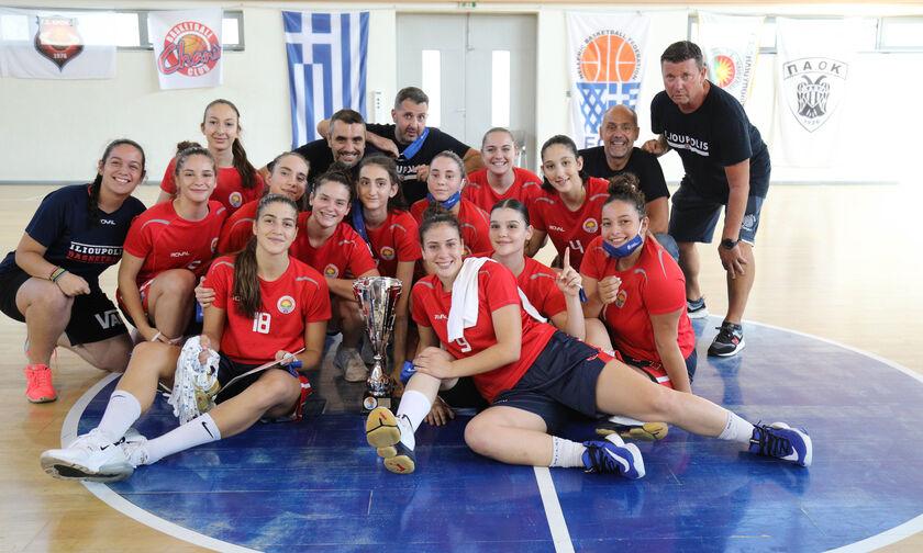 Αήττητα το χρυσό τα τρομερά κορίτσια της Ηλιούπολης στο Πανελλήνιο Νεανίδων μπάσκετ!