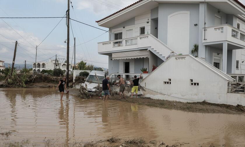 Πλημμύρες στην Εύβοια: Σε έξι ώρες έβρεξε όσο όλο τον χειμώνα στην Αθήνα!