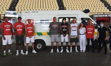 Ολυμπιακός: Πέρασαν από ιατρικές εξετάσεις και τεστ κορονοϊού οι «ερυθρόλευκοι» (pics)