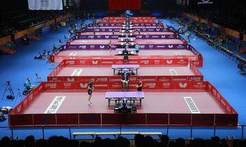 Πινγκ Πονγκ: Οδηγίες της παγκόσμιας ομοσπονδίας για την ασφαλή διεξαγωγή αγώνων