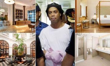 Ροναλντίνιο: Ακόμα δύο εβδομάδες... φυλακισμένος σε σουίτα πεντάστερου