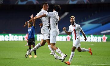Champions League: Με ανατροπή στα ημιτελικά η Παρί, 2-1 την Αταλάντα - Το πανόραμα του final 8 (vid)