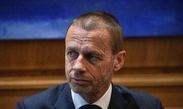 Τσεφέριν: «Πιστεύουμε πως θα έχουμε θεατές στο Euro»