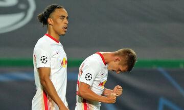 Champions League: Η Λειψία στους «4», νίκησε 2-1 την Ατλέτικο - Το πανόραμα του final 8 (highlights)