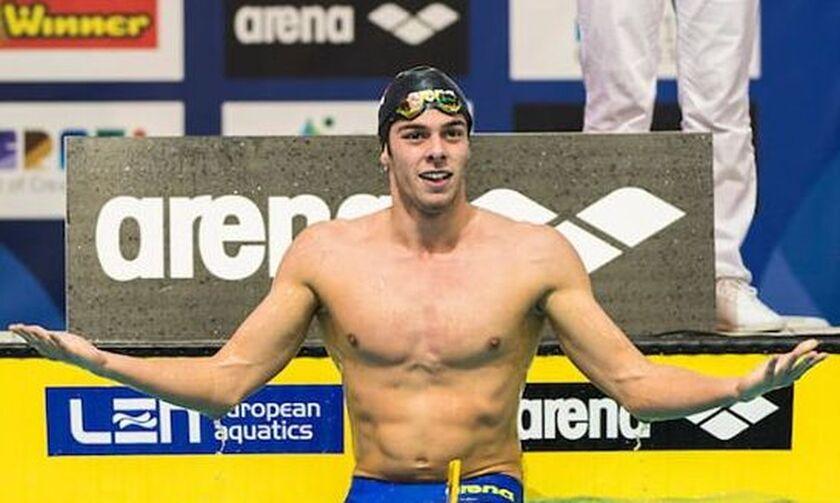 Κολύμβηση: Ευρωπαϊκό ρεκόρ ο Παλτρινιέρι (pic)