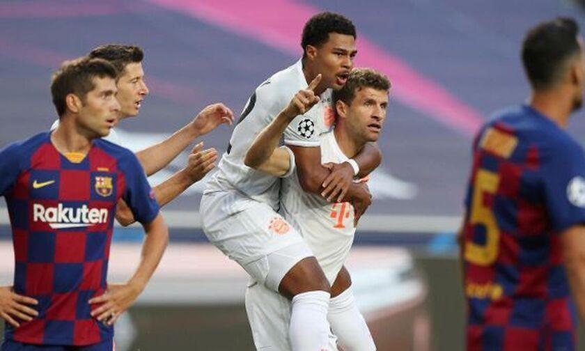 Μπαρτσελόνα-Μπάγερν 1-4: Τα πέντε γκολ του ημιχρόνου (vids)