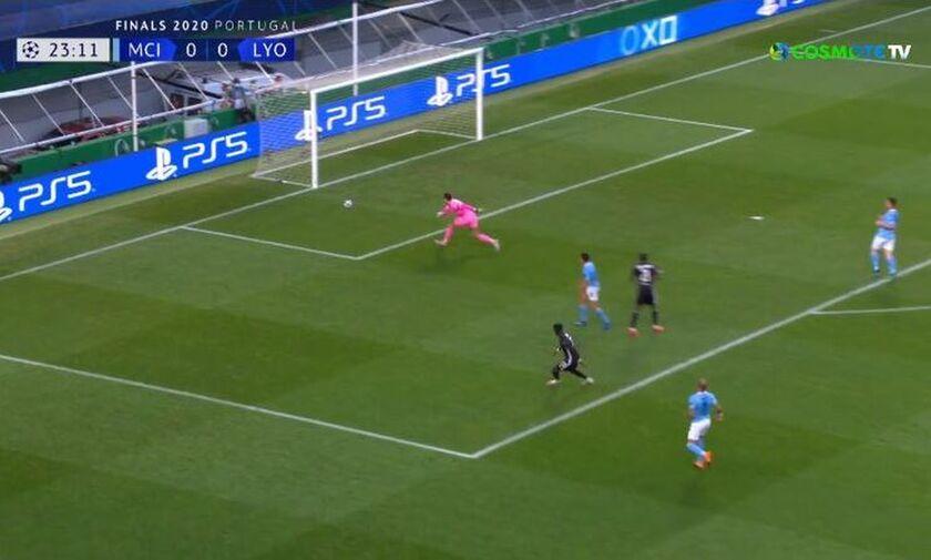 Μάντσεστερ Σίτι-Λιόν: Γκολ ο Κορνέ και 0-1 (vid)