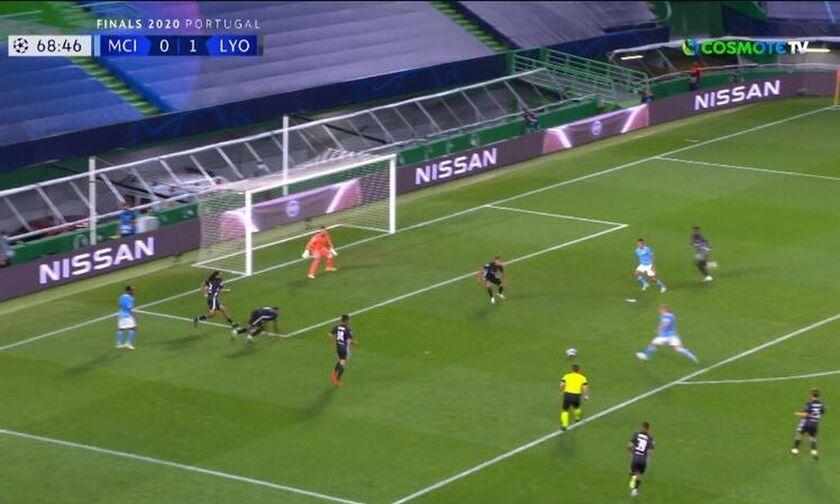 Μάντσεστερ Σίτι-Λιόν: Γκολ ο Ντε Μπρόινε και 1-1 (vid)