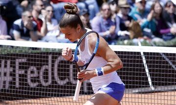 Σάκκαρη: Έφτασε στη Νέα Υόρκη για το US Open
